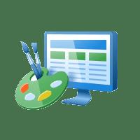 Сайт с индивидуальным дизайном