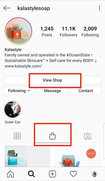 интернет магазин инстаграм